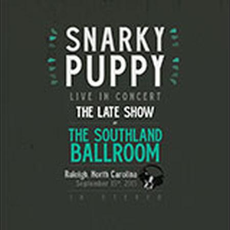 09/15/15 Southland Ballroom, Late Show - Raleigh, NC
