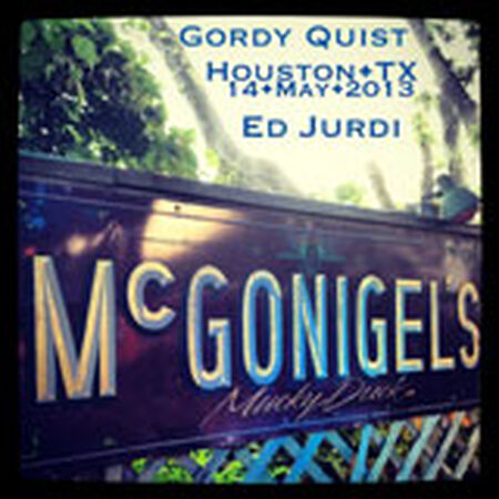 05/14/13 McGonigel's Mucky Duck, Houston, TX