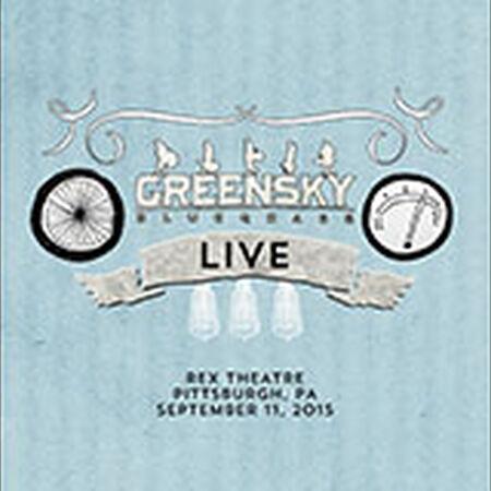 09/11/15 Rex Theatre, Pittsburgh, PA