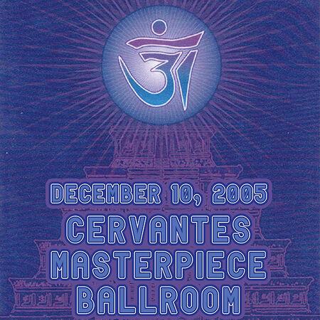 12/10/05 Cervantes Masterpiece Ballroom, Denver, CO