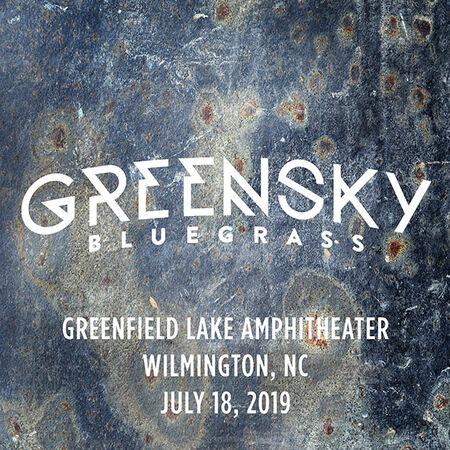 07/18/19 Greenfield Lake Amphitheater, Wilmington, NC