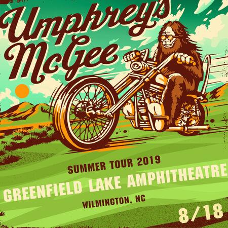 08/18/19 Greenfield Amphitheatre, Wilmington, NC