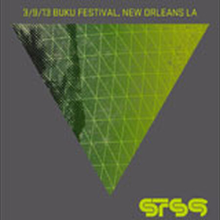 03/09/13 BUKU Music and Arts Project, New Orleans, LA