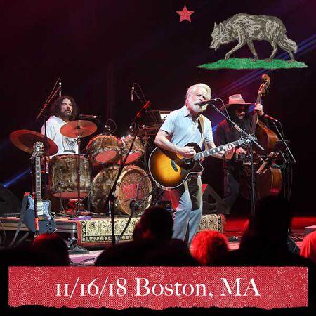 11/16/18 Boch Center Wang Theatre, Boston, MA