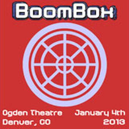 01/04/13 Ogden Theatre, Denver, CO