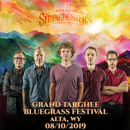 08/10/19 Grand Targhee Bluegrass Festival, Alta, WY