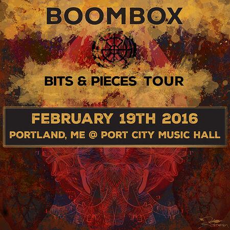 02/19/16 Port City Music Hall, Portland, ME