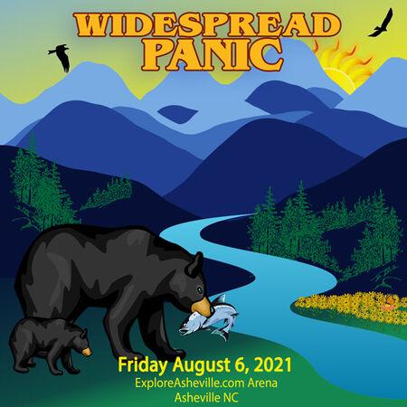 Widespread Panic Asheville 2021 Audio