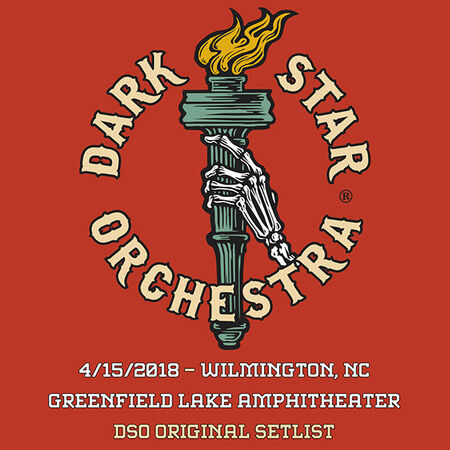 04/15/18 Greenfield Amphitheater, Wilmington, NC