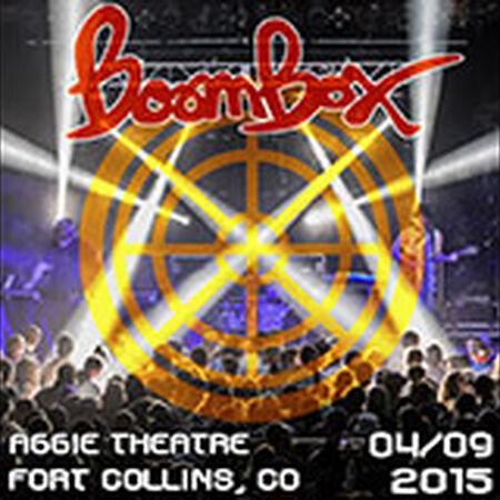 04/09/15 Aggie Theatre, Fort Collins, CO