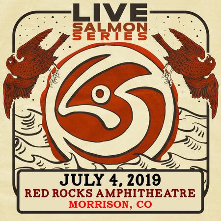 07/04/19 Red Rocks Amphitheatre, Morrison, CO