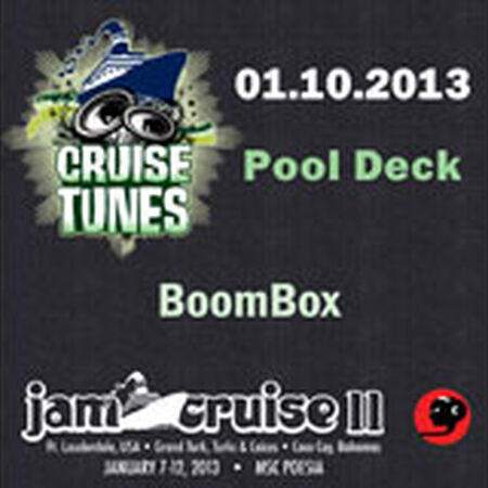 01/10/13 Pool Deck, Jam Cruise, US