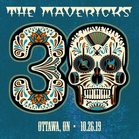 10/26/19 Meridian Theatre, Ottawa, ON