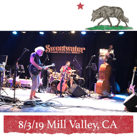 08/03/19 Sweetwater Music Hall, Mill Valley, CA