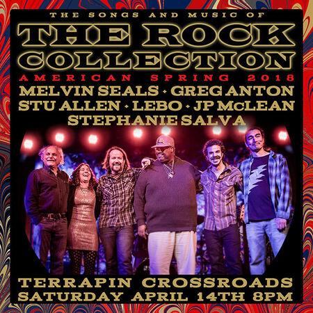 04/14/18 Terrapin Crossroads - Grate Room, San Rafael, CA