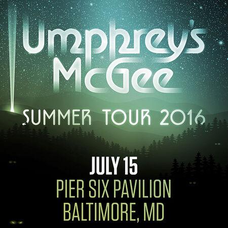 07/15/16 Pier Six Pavilion, Baltimore, MD
