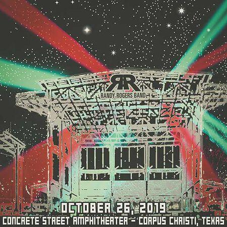 10/26/19 Concrete Street Amphitheatre, Corpus Christi, TX