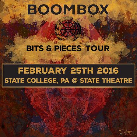 02/25/16 State Theatre, State College, PA
