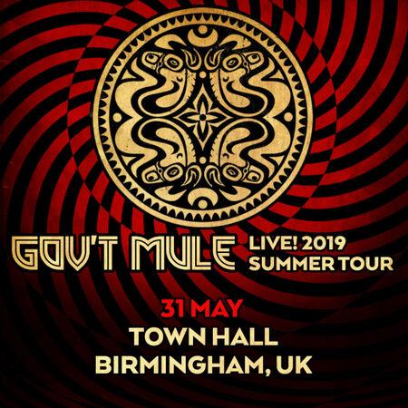 05/31/19 Birmingham Town Hall, Birmigham, UK