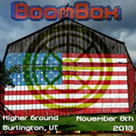 11/08/13 Higher Ground, Burlington, VT