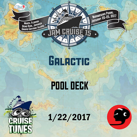 01/22/17 Pool Deck, Jam Cruise, US