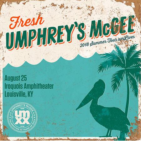 08/25/18 Iroquois Amphitheater, Louisville, KY