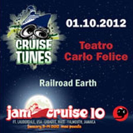 01/10/12 Teatro Carlo Felice, Jam Cruise, US