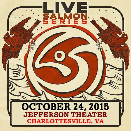 10/24/15 Jefferson Theater, Charlottesville, VA