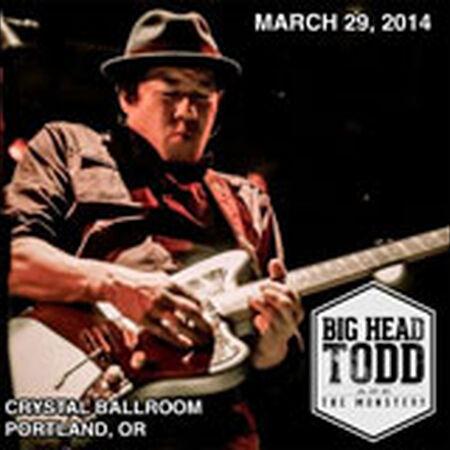 03/29/14 Crystal Ballroom, Portland, OR