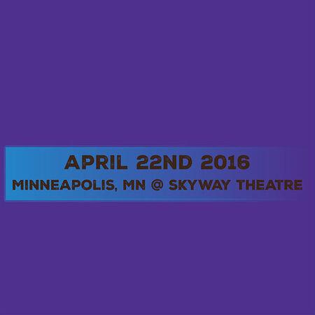 04/22/16 Skyway Theatre, Skyway Theatre, MN