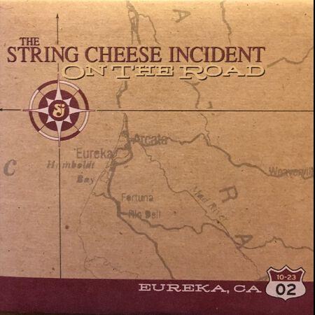 10/23/02 Eureka Municipal Auditorium , Eureka, CA