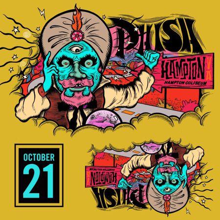 10/21/18 Hampton Coliseum, Hampton, VA