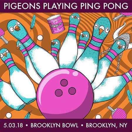 05/03/18 Brooklyn Bowl, Brooklyn, NY