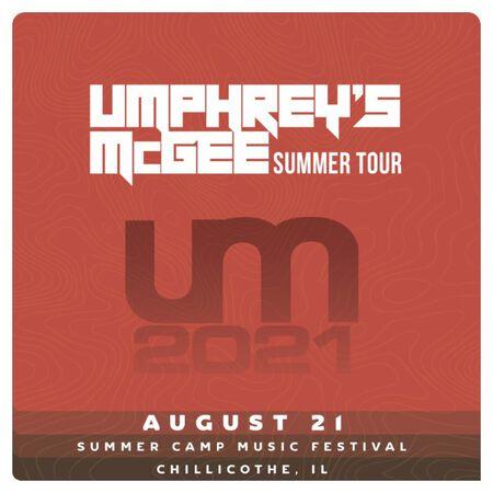 08/21/21 Summer Camp Music Festival, Chilicothe, IL