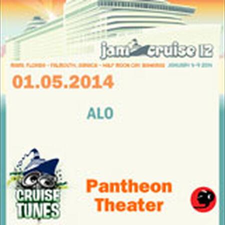 01/05/14 Pantheon Theater, Jam Cruise, US