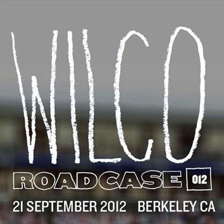 09/21/12 Greek Theatre, Berkeley, CA