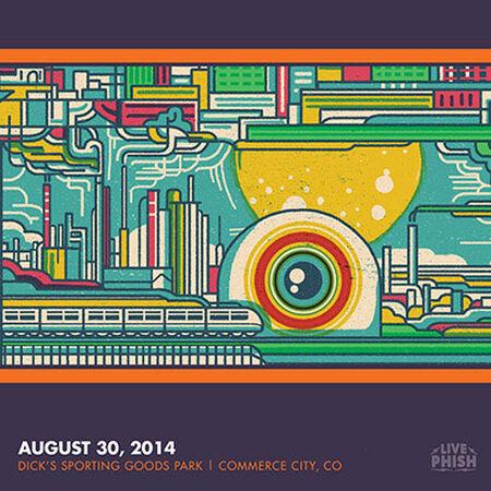 08/30/14 Dick's Sporting Goods Park, Commerce City, CO