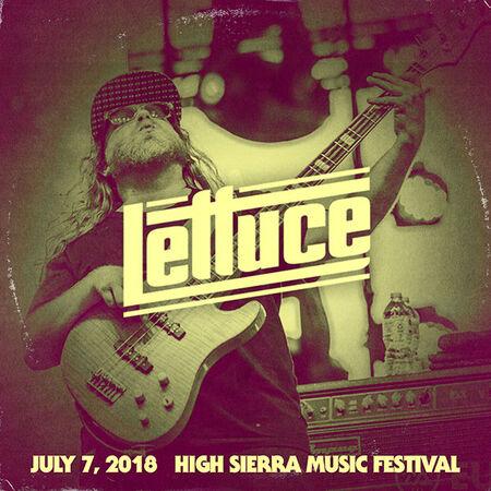 07/07/18 High Sierra Music Festival, Quincy, CA