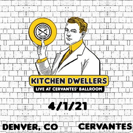 04/01/21 Cervantes' Masterpiece Ballroom - Early Show, Denver, CO