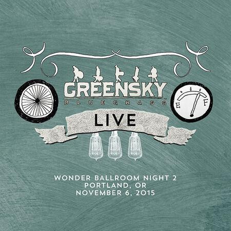 11/06/15 Wonder Ballroom, Portland, OR