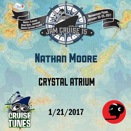 01/21/17 Crystal Atrium, Jam Cruise, US