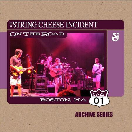 07/22/01 Fleet Boston Pavilion, Boston, MA