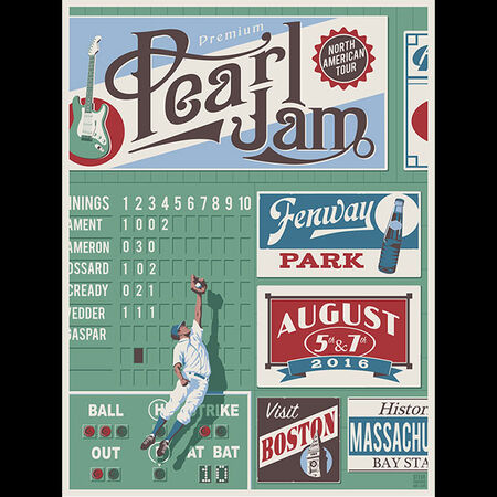 08/07/16 Fenway Park, Boston,  MA