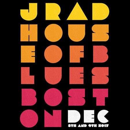 12/09/17 House of Blues, Boston, MA
