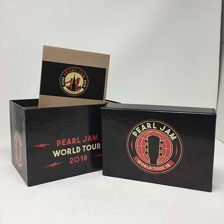 Pearl Jam 2018 Empty Box