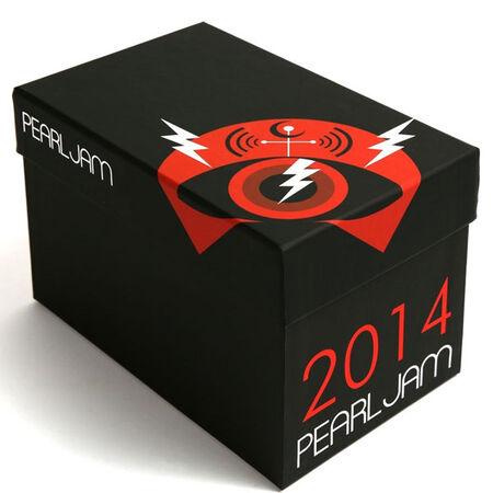 2014 Pearl Jam Box (Empty)