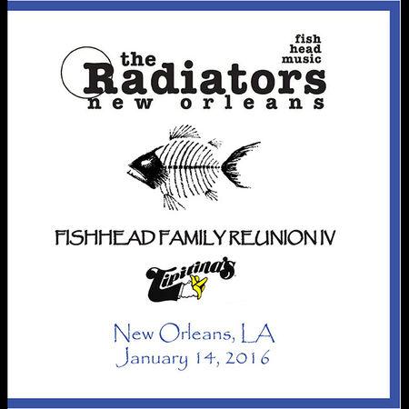 01/14/16 Tipitina's, New Orleans, LA