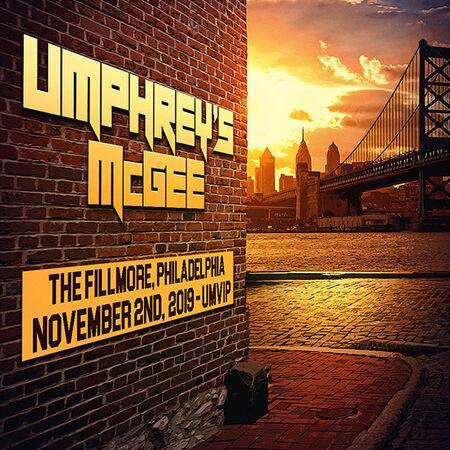 11/02/19 The Fillmore, Philadelphia, PA