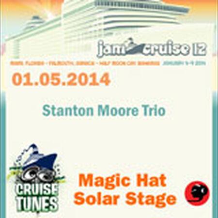 01/05/14 Magic Hat Solar Stage, Jam Cruise, US