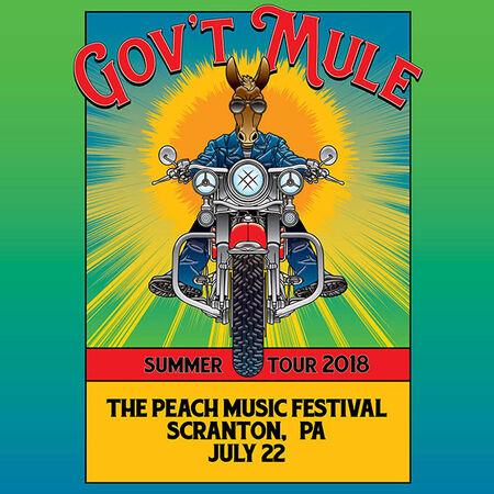 07/22/18 Peach Music Festival, Scranton, PA